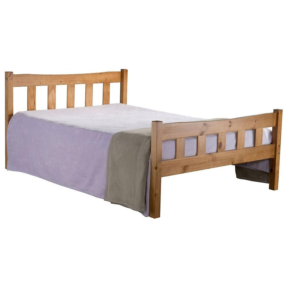 Baley PU Upholstered Twin Bed Frame by Harriet Bee