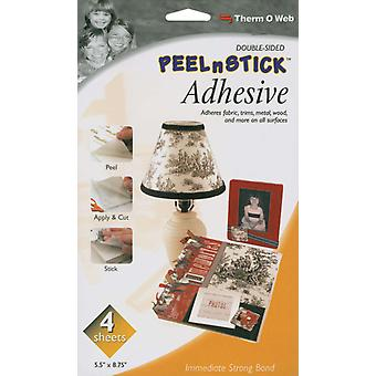 Peel N Stick Adhesive Sheets 4 Pkg 5.5