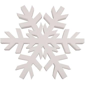 Smooth Foam Snowflake 12
