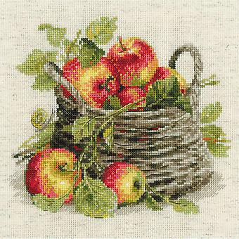 Ripe Apples Counted Cross Stitch Kit 11.75