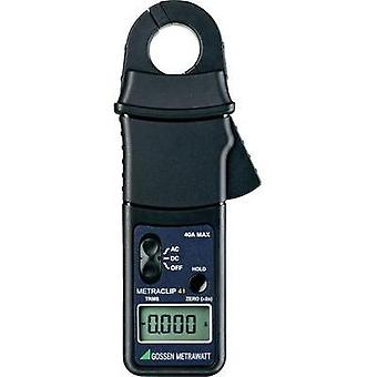Current clamp, Handheld multimeter digital Gossen Metrawatt METRACLIP 41 Calibrated to: Manufacturer standards CAT III