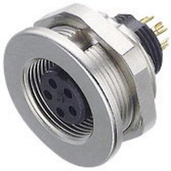 Binder 09-0416-00-05 09-0416-00-05 Sub Miniature Round Plug Connector Series Nominal current: 3 A Number of pins: 5