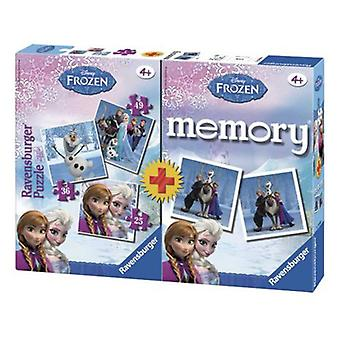 Ravensburger Multipack Frozen Memory With 3 Puzzles (Toys , Boardgames , Puzzles)