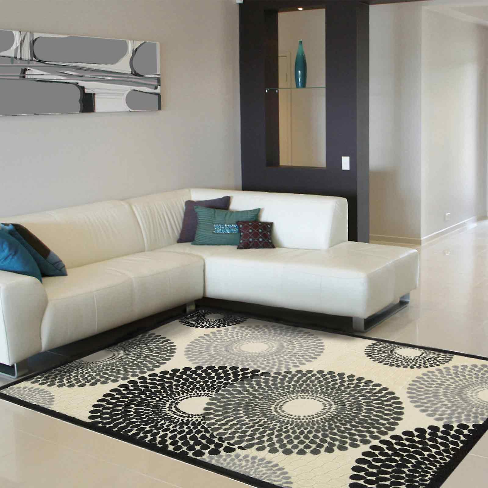 Graphic Illusions Rugs Gil04 Parch By Nourison