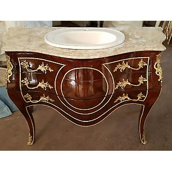 Commode baroque armoire Louis xv style antique MkKm0028