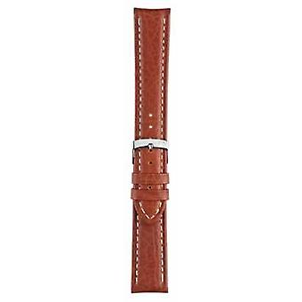 Morellato Strap Only - Kuga Genuine Leather Light Brown 20mm A01U3689A38041CR20 Watch
