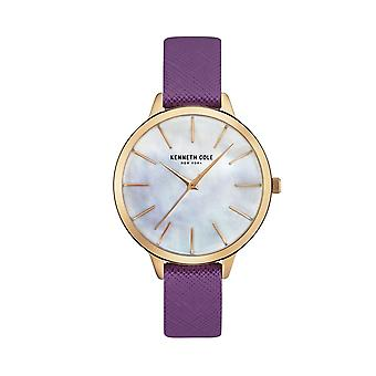 Kenneth Cole New York Damen Uhr Armbanduhr Leder KC15056002