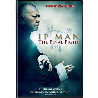 IP Man: The Final Fight [DVD] USA importerer