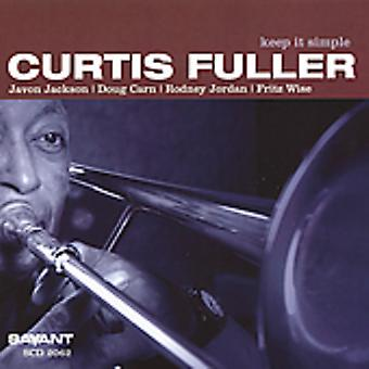 Curtis Fuller - Keep It Simple [CD] USA import