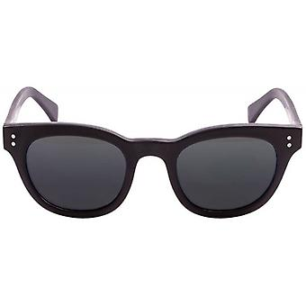 Ocean Santa Cruz Sunglasses - Matte Black/Smoke