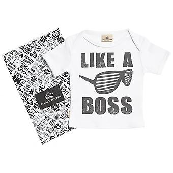 Spoilt Rotten Like A Boss Short Sleeve Baby T-Shirt