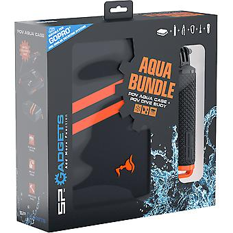 SP Aqua Bundle - Waterproof Case and POV Dive Buoy for GoPro Cameras
