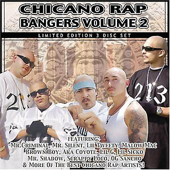 Chicano Rap kanonslag - Vol. 2-Chicano Rap kanonslag [CD] USA importerer