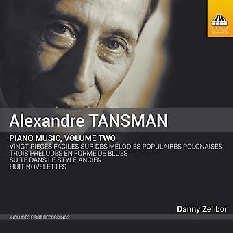 Tansman / Zelibor - klaver musik 2 [CD] USA import