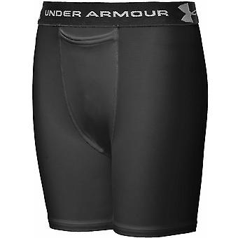 UNDER ARMOUR Youth Compression Short with cup pocket [black]