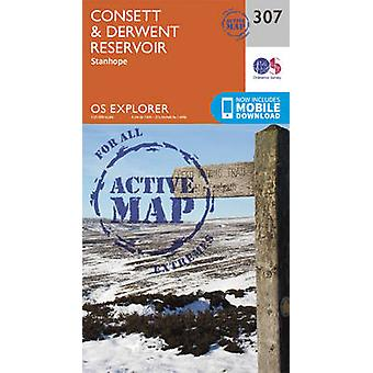 Consett and Derwent Reservoir by Ordnance Survey