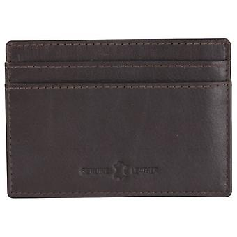 Dalaco Slim RFID Card Holder - Brown