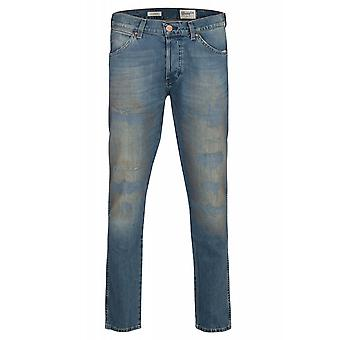 Wrangler boy tone trousers mens jeans blue W16E-Y5-80E