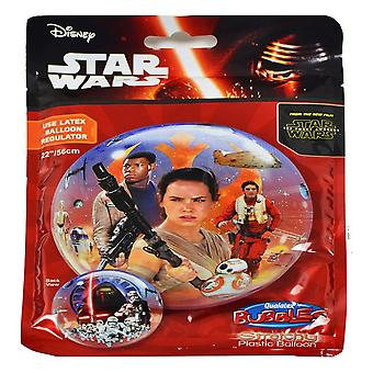 Qualatex 22 Inch Star Wars The Force Awakens Bubble Balloon