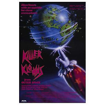 Killer Klowns from Outer Space Movie Poster (11 x 17)