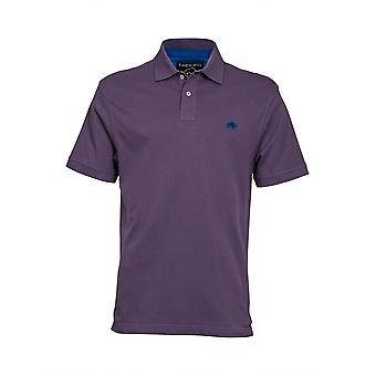 Signature Polo Shirt - violet