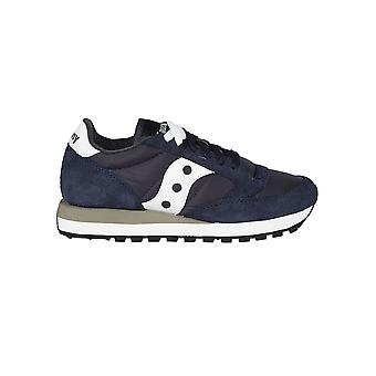 Saucony ladies 1044316 Blue Suede of sneakers