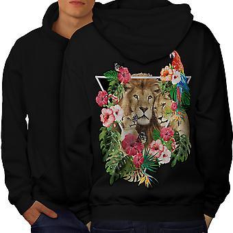 copa mundial på konstgräs Rea Lion Love Family Men BlackHoodie Back  d67c013a612fc