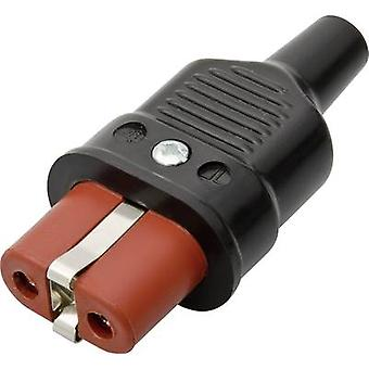 Hot wire connector Series (mains connectors) 344 Socket, straight