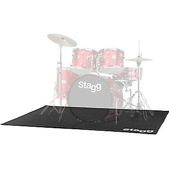 Stagg SCADRU1815 Professional Drum Carpet with Bag