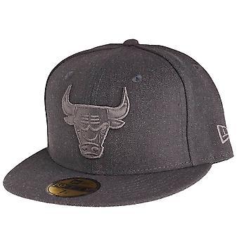 New Era 59Fifty Cap - GRAPHITE Chicago Bulls grau