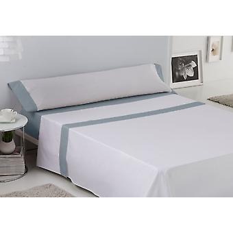 ES-TELA Plain sheet set with 3-piece white-steel wall lamp (Textile , Bed Linens)