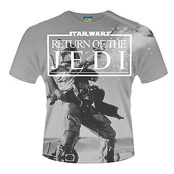 Star Wars- Return Of The Jedi (Dye Sub) T-Shirt