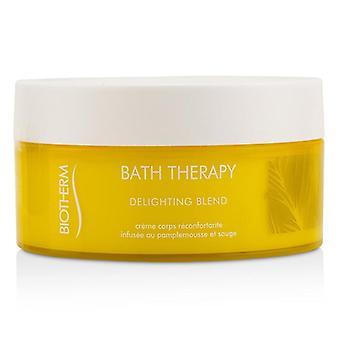 Terapia de baño de Biotherm deleitar cuerpo mezcla hidratante crema - 200ml/6,76 oz