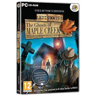 Enigmatis spøgelser af Maple Creek (PC CD)-fabriks forseglet