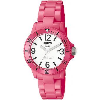 Invicta Angel kvinners 1209 rosa plast Watch