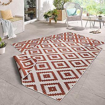 Dreje tæppe Malta Terra fløde i- & udendørs