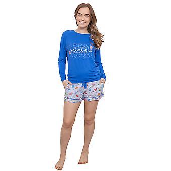 Cyberjammies 3888 женщин голубой Cristie пижамы Пижамная Топ