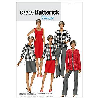 Misses'/Women's Jacket, Dress, Skirt and Pants-RR (18W-20W-22W-24W) -*SEWING PATTERN*