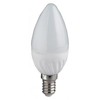 Trio Lighting Candle  White Glass Light Source