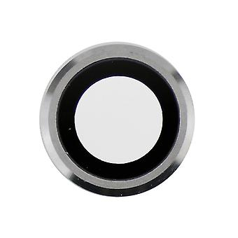 Silver Rear Camera Holder with Lens For iPhone 6 Plus - 6S Plus