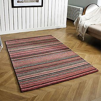 Carter Pink  Rectangle Rugs Plain/Nearly Plain Rugs