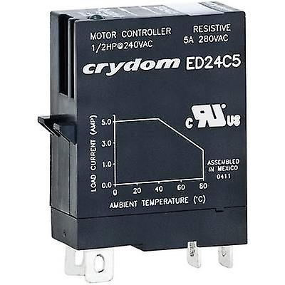 Crydom SSR 1 pc(s) ED24D5 Current load (max.): 5 A Switching voltage (max.): 280 V AC Zero crossing