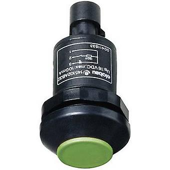 Elobau 145010AB-GN Pushbutton 48 V DC/AC 0.5 A 1 x On/(Off) IP67 momentary 1 pc(s)