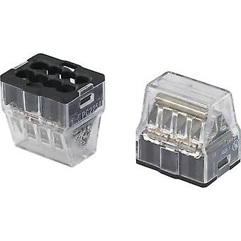 Screw terminal rigid: 1-2.5 mm² Number of pins: 8 25 pc(s) Transparent, Black