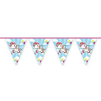 Unicorn party Wimpel chain cica 10 m long Unicorn Unicorn party decoration