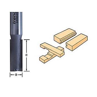 Trend 3/8l X 1/4 Tungsten Carbide Two Flute Cutter