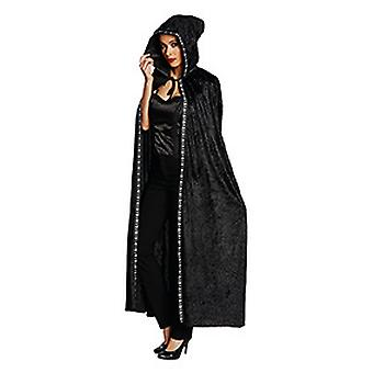 Cloak Cape women's black costume Halloween Carnival