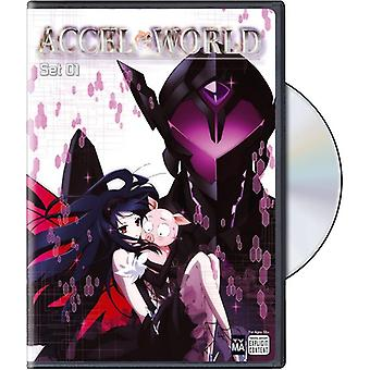 Accel World: Set 1 [DVD] USA import