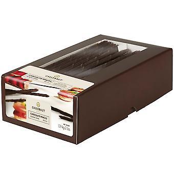 Dunkle Schokolade Callebaut Rubens Bleistifte