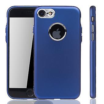 Apple iPhone 7 / 8 caja - caja del teléfono celular de Apple iPhone 7 / 8 - caja del teléfono celular en azul oscuro